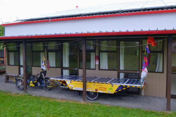NZ: Solatrike in Whanganui bei Quaker Community und Hosts Ann und John