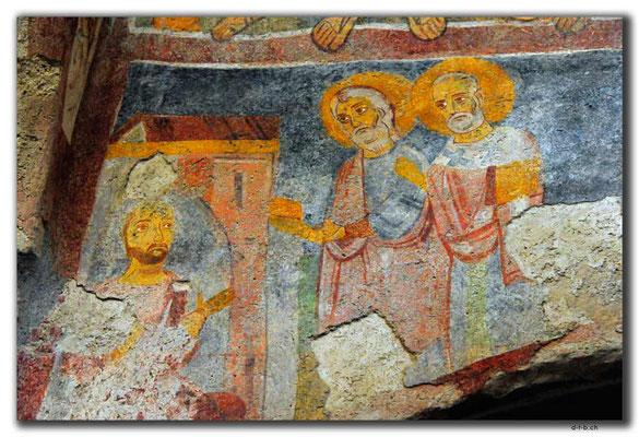 TR0262.Demre.Baba Noel Kirche.Fresken