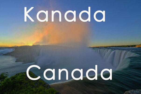 Fotogalerie Kanada / Photogallery Canada