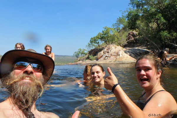 Australien, Kakadu N.P. Gunlom Wasserfall
