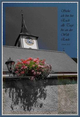S0016,Kirche Serneus,CH.Matthäus 28.20