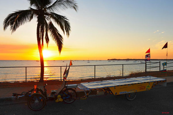 AU: Solatrike bei Fannie Bay, Darwin