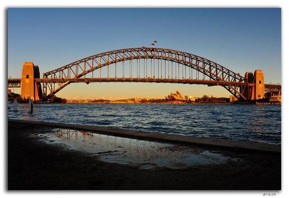 AU1654.Sydney.Opera House & Harbour Bridge.McMahons Point