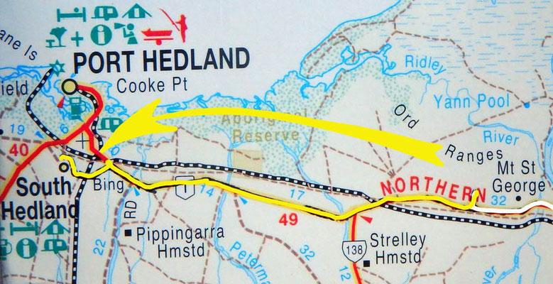 Tag 318: Ord Range - South Hedland