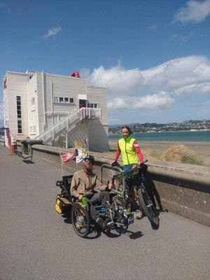 NZ: Wellington, David & Ismene (Photo: Ismene)