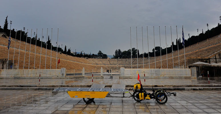 GR: Solatrike in Athen, Panathenaic Stadium