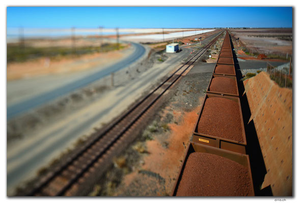 AU0288.Port Hedland,Iron Ore Train