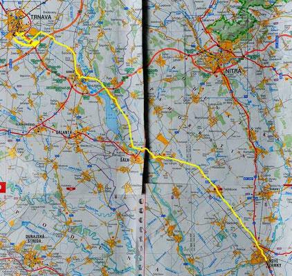 Tag 55: Trnava - Nové Zámky