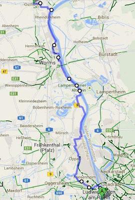Ludwigshafen - Osthofen 26.6.2014