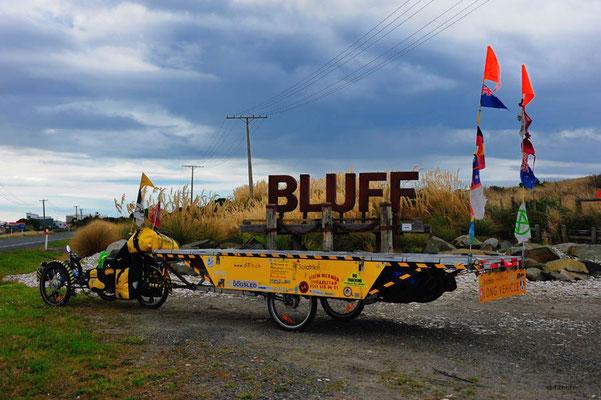 NZ: Solatrike in Bluff