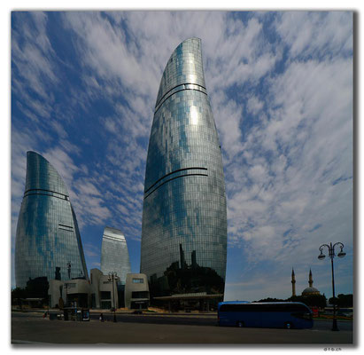 AZ082.Baku. Flame Towers