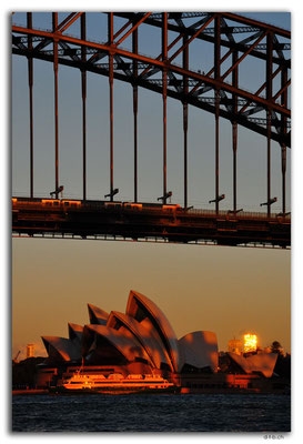 AU1657.Sydney.Opera House & Harbour Bridge.McMahons Point