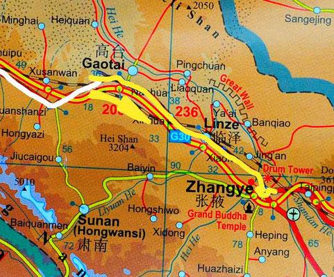 Tag 241: Xitancun - Zhangye