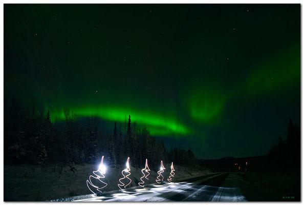 SE0065 Nordlicht.Kiruna.Lightpaint