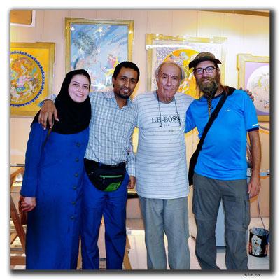 IR: Nafise, Khosrow, Mr.Amir-Hushang Jazizadeh & David, Isfahan