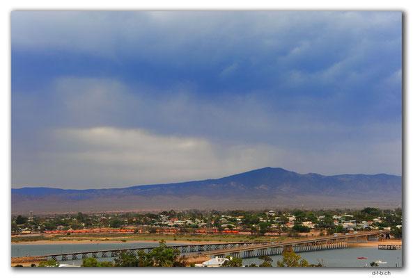 AU1050.Port Augusta.Devils Peak und Brücken