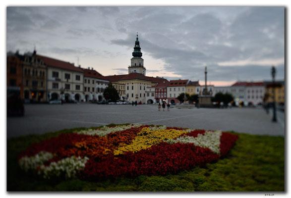 CZ146.Kroměříž.Marktplatz