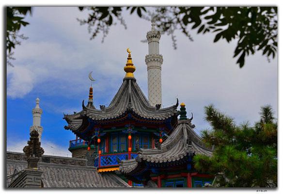 CN0299.Hohhot.Moschee im chin.Stil