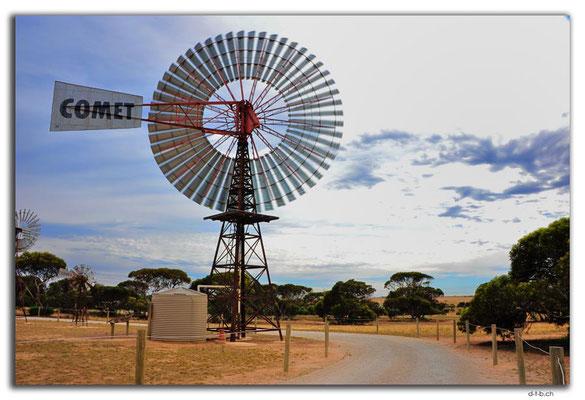 AU0970.Penong.Windmill Museum.Biggest Windmill in AU