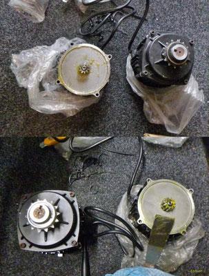 NZ: Solatrike, Vordermotor ersetzt