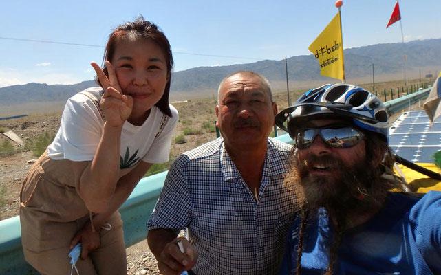 Solatrike.CN.Selfie mit Vater und Tochter