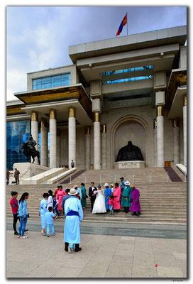 MN0003.Ulaan Bator.Sukhbaatar Square