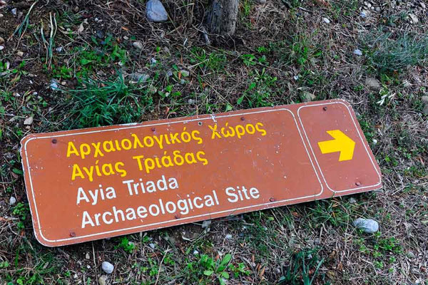 Griechenland.Kreta.Agia Triada