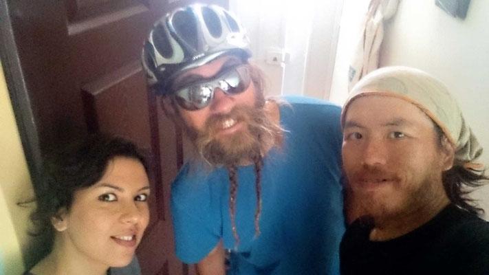 IR: Bojnurd. Host: Shiva and cyclist: Harry (Photo: Harry)