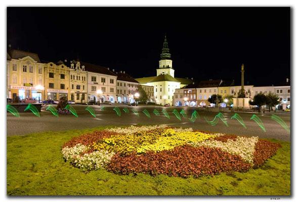 CZ147.Kroměříž.Marktplatz