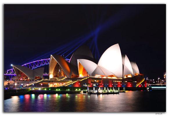 AU1575.Sydney.Vivid.Opera + Bridge
