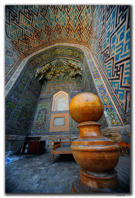 UZ0032.Samarkand.Registan.Sher Dor Medressa
