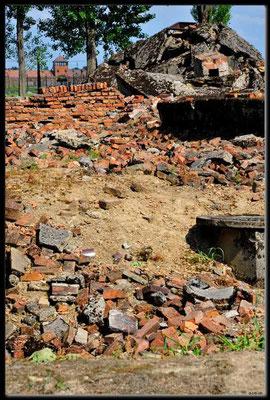 PL041.Birkenau.gesprengte Gaskammer
