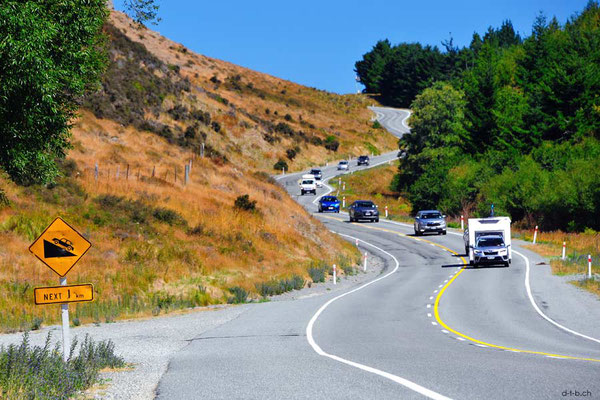 New Zealand. Burkes Pass