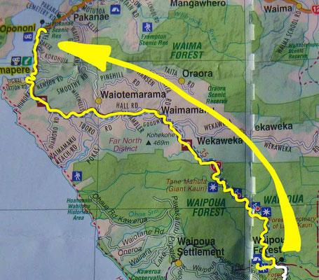 Tag 456: Waipoua Camp - Opononi
