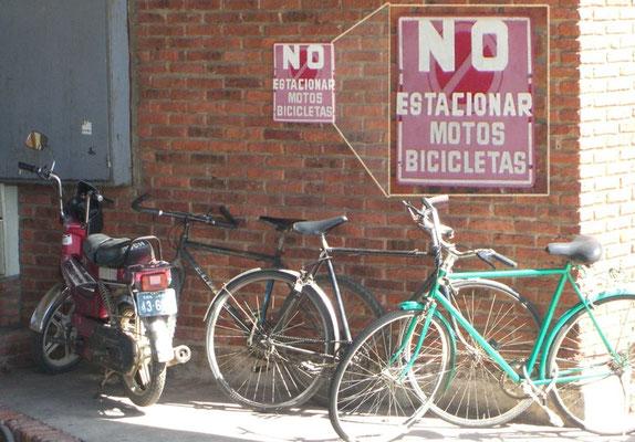 Uruguay, No estacionar!