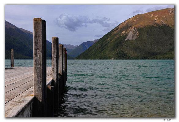 NZ0643.Nelson Lakes N.P.St.Arnaud.Lake Rotoiti