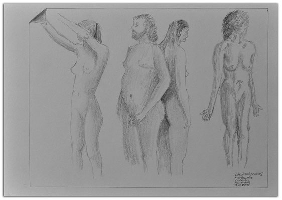 216.Skizze.Life drawing course1.Melbourne.Australia