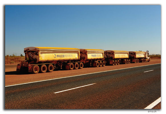 AU0294.South Hedland,Iron Ore Road Train