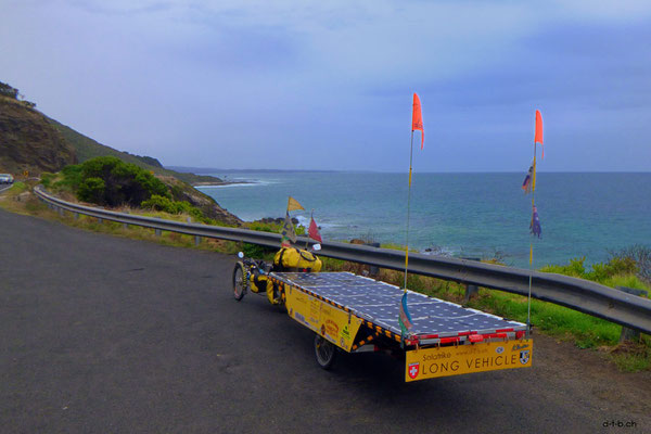 AU: Solatrike auf Great Ocean Road