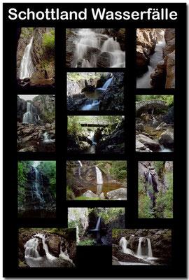 Schottland Wasserfälle / Scotland waterfalls