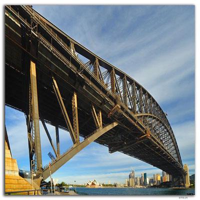 AU1599.Sydney.Opera House + Harbour Bridge