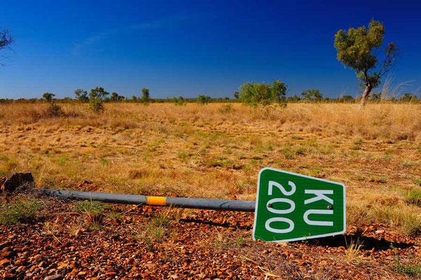 Australien.200km vor Kununurra