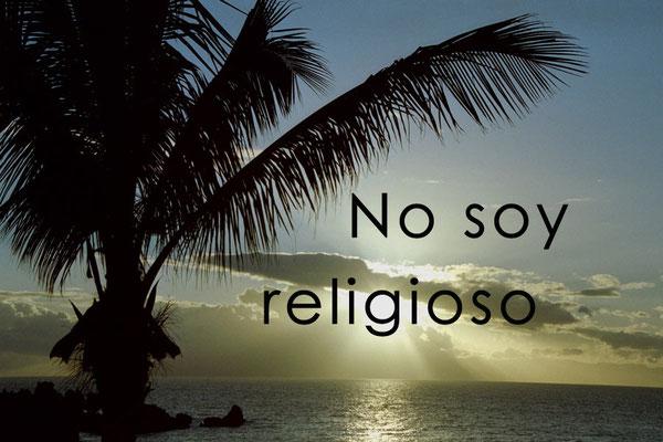 No soy religioso
