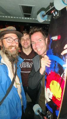KR: David, Russe und Französischer Skater