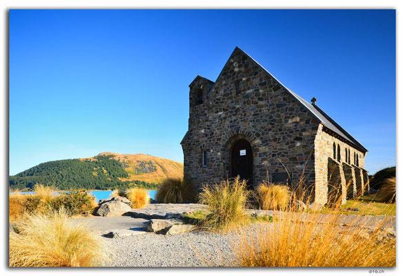 NZ0790.Lake Tekapo.Church of the good Shepherd