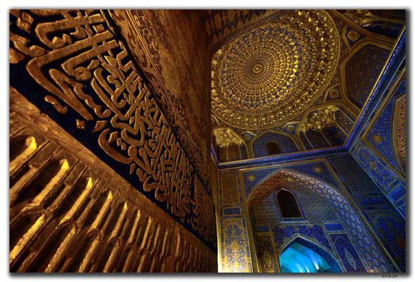 UZ0053.Samarkand.Registan.Tilla-Kari Medressa