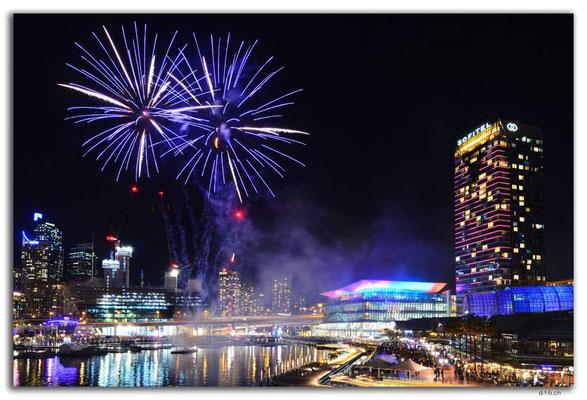 AU1743.Sydney.Darling Harbour.Feuerwerk
