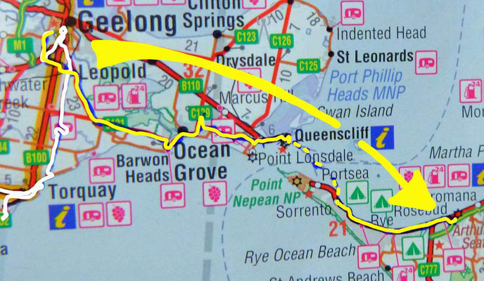 Tag 430: Geelong - Rosebud