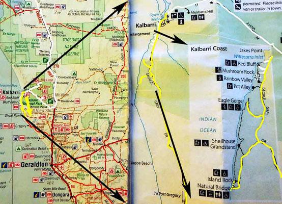 Tag 342: Kalbarri - GMA Garnet Mine