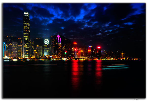 HK0038.Hong Kong Island night